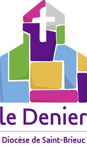 logo du denier dans le diocèse de Saint-Brieuc