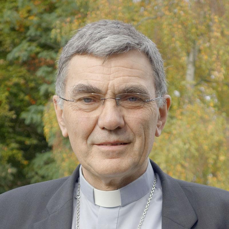 Photo Mgr Denis Moutel, évêque de Saint-Brieuc et Tréguier