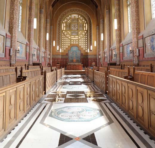 intérieur de la chapelle Saint-ves
