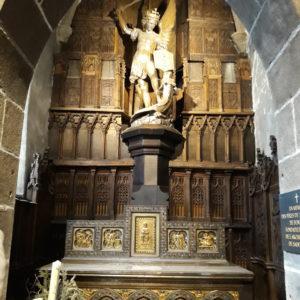 Statue de l'archange Saint-Michel