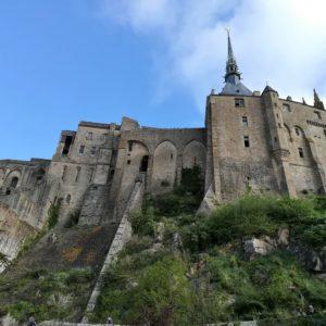 Façade du Mont Saint-Michel