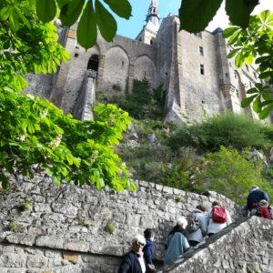 Montée du Mont Saint-Michel