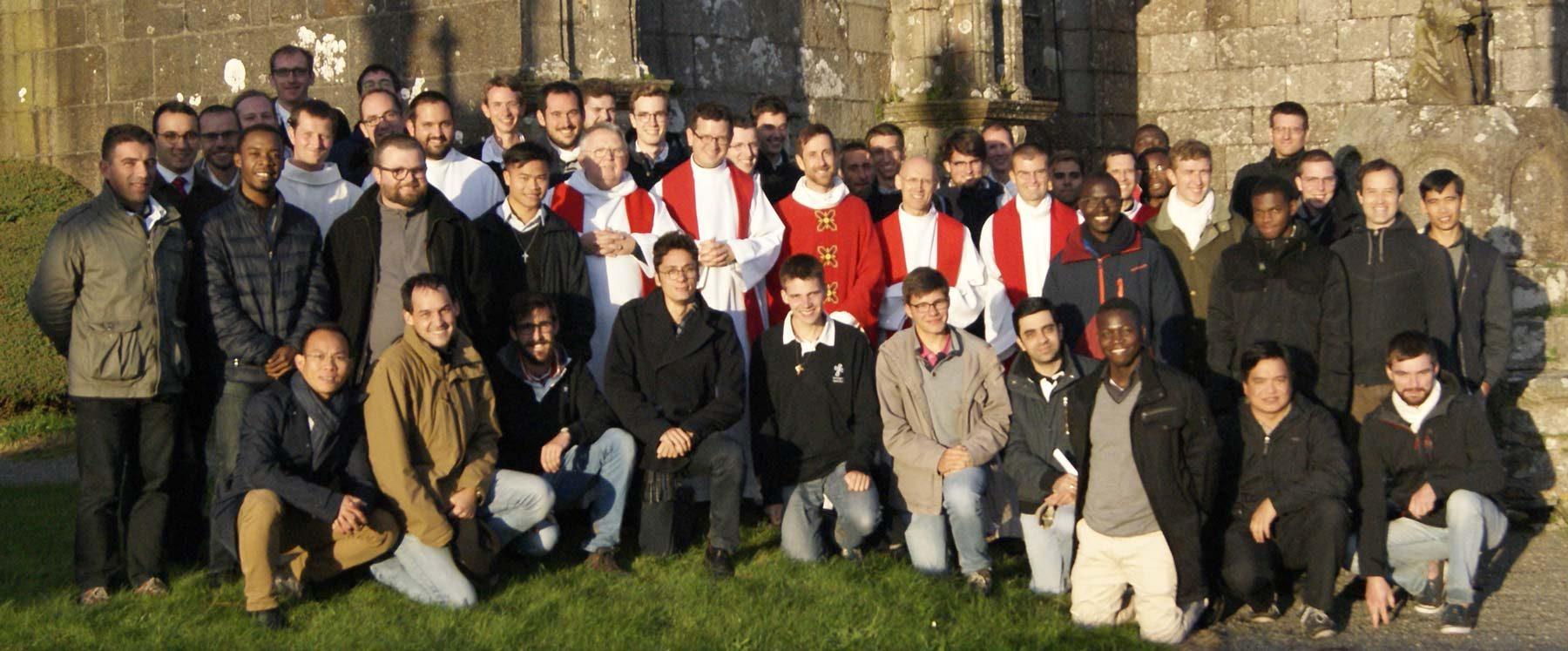 Promotion des séminaristes bretons