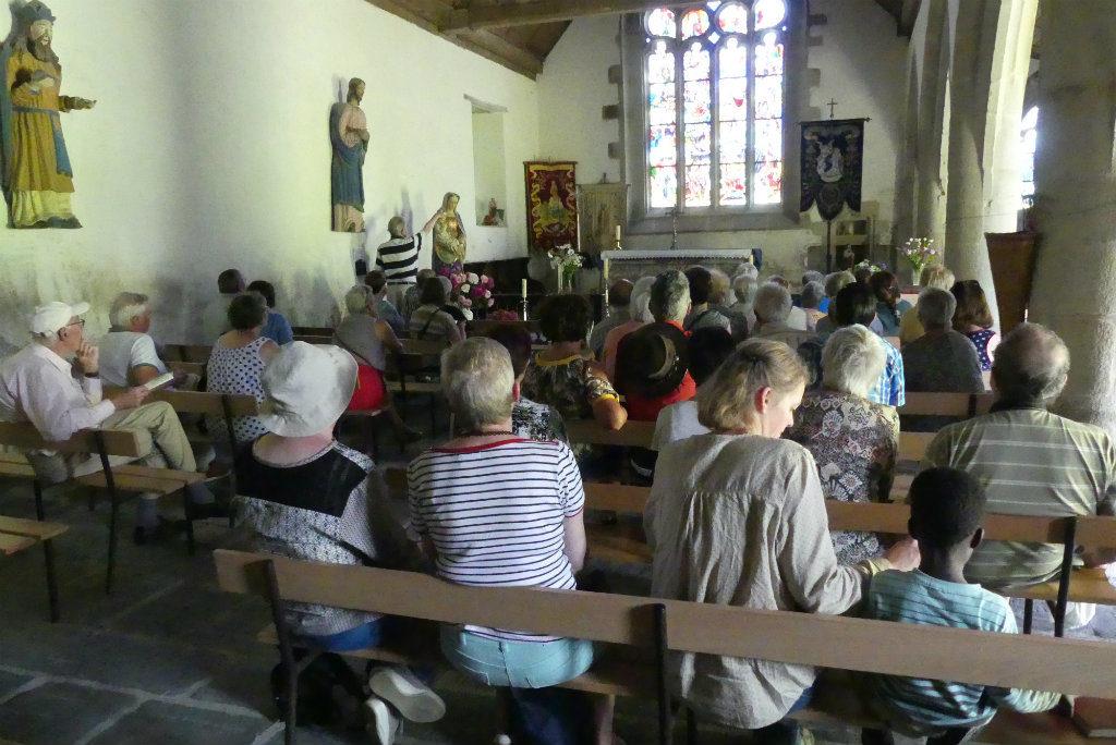 chapelle notre-dame de lansalaun