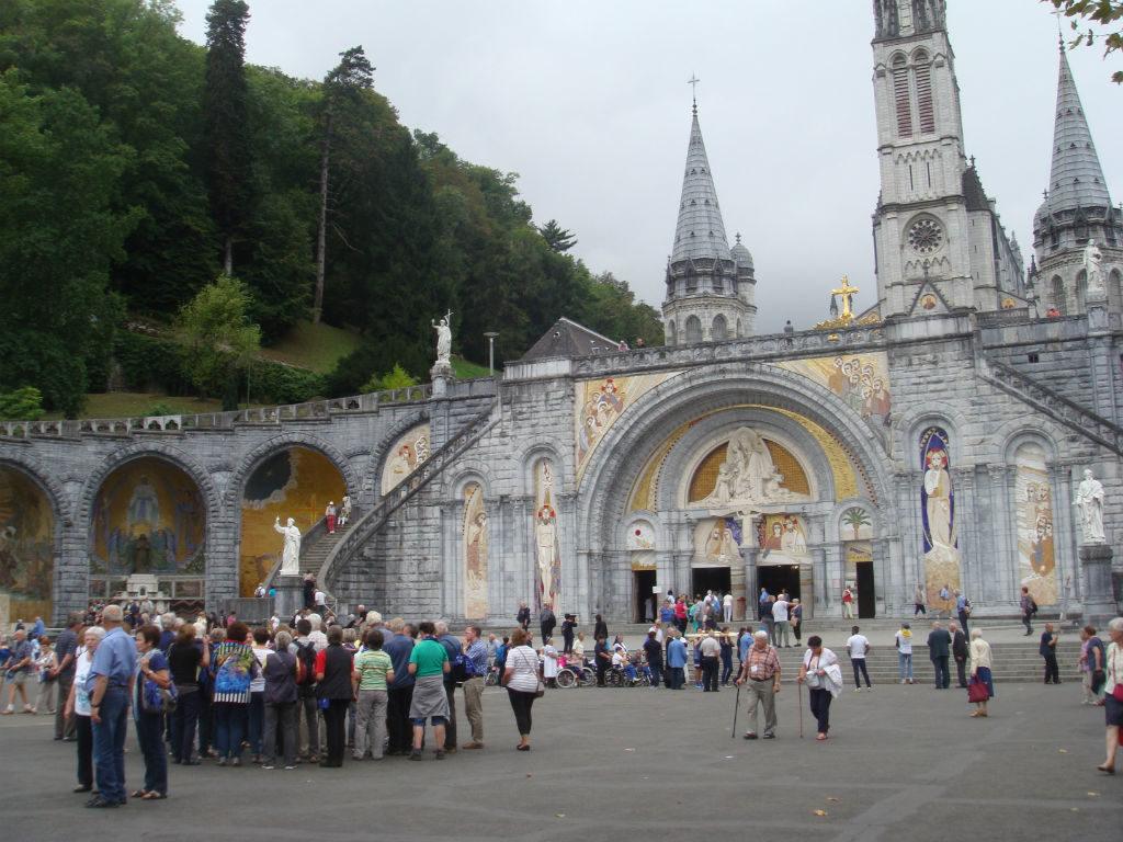pelerinage du réseau St-Laurent à Lourdes