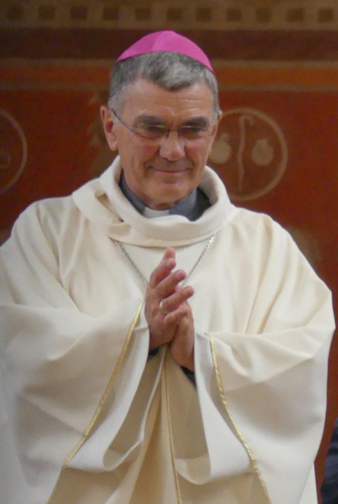 Mgr Denis Moutel, évêque du diocèse de Saint-Brieuc