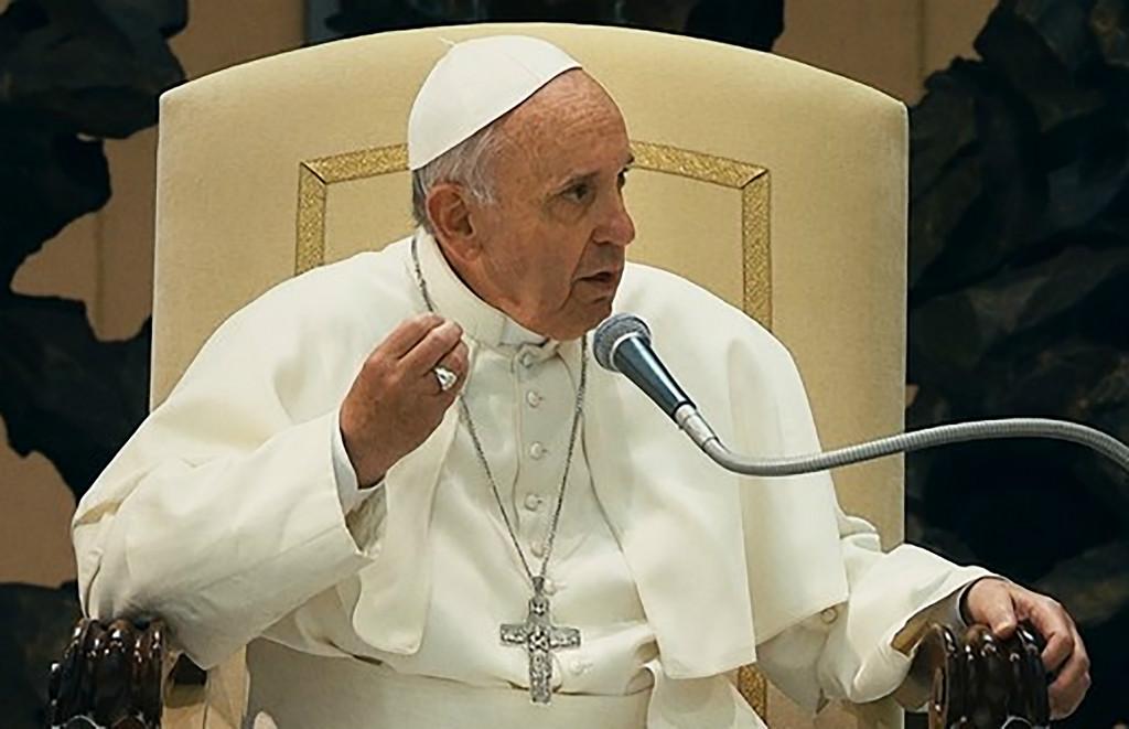 Prise de parole du Pape Francois