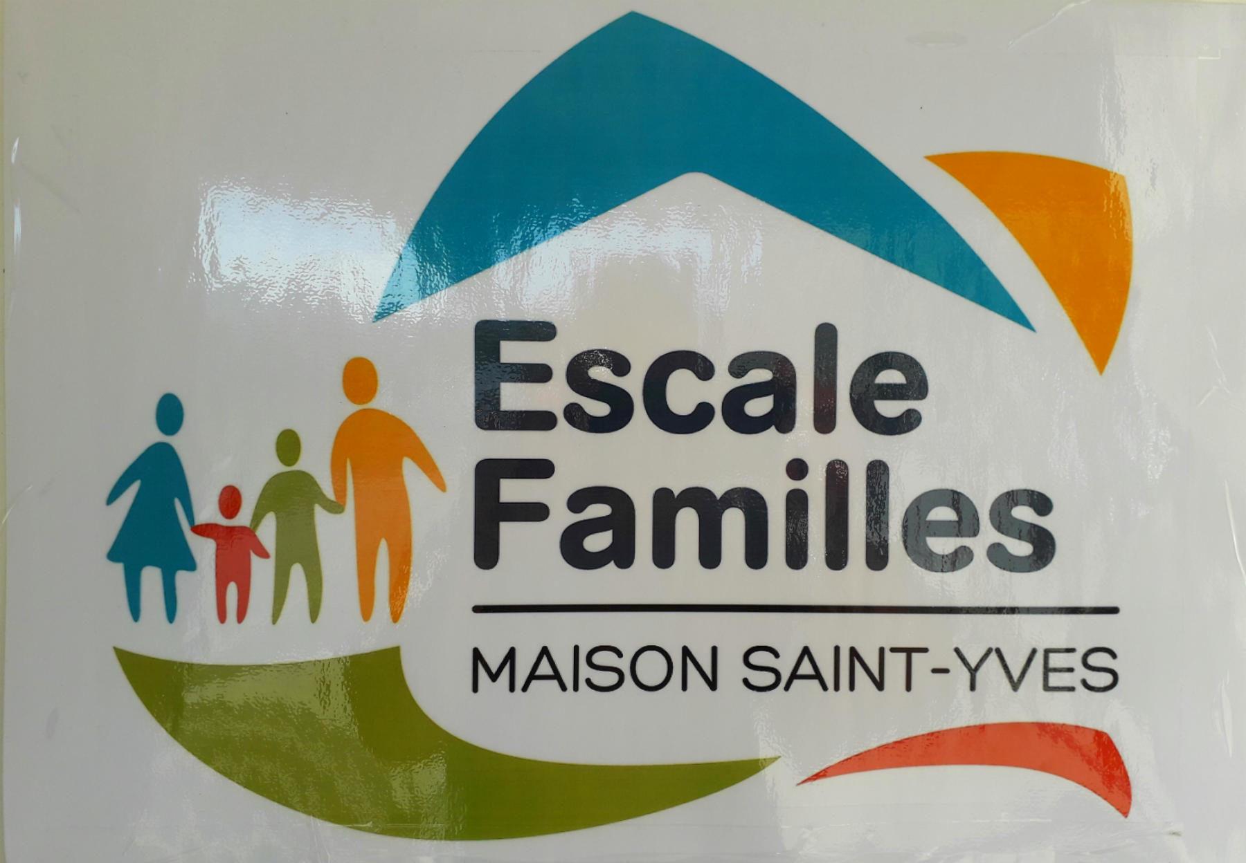 logo de l'escale familles