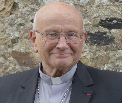 mgr lucien fruchaud, évêque émérite du diocèse de Saint-Brieuc