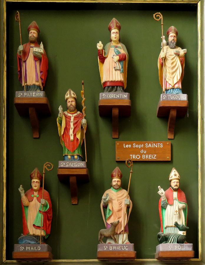 Sept saints fondateurs à la Cathédrale de Saint Pol de Léon