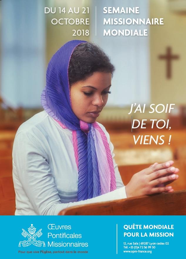 affiche 2018 semaine missionnaire mondiale