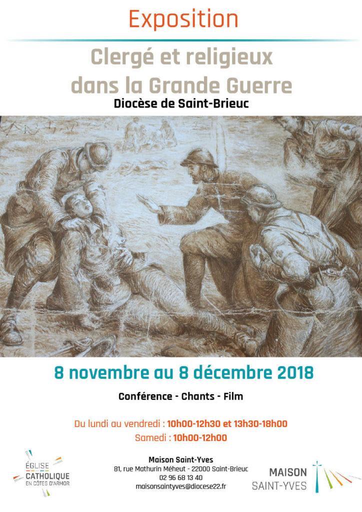 affiche de l'exposition sur la guerre 14-18