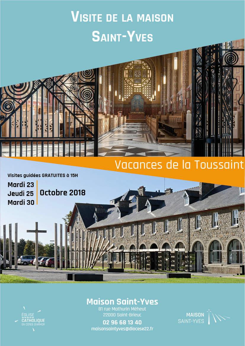 visites guidées de la Maison Saint-Yves toussaint 2018
