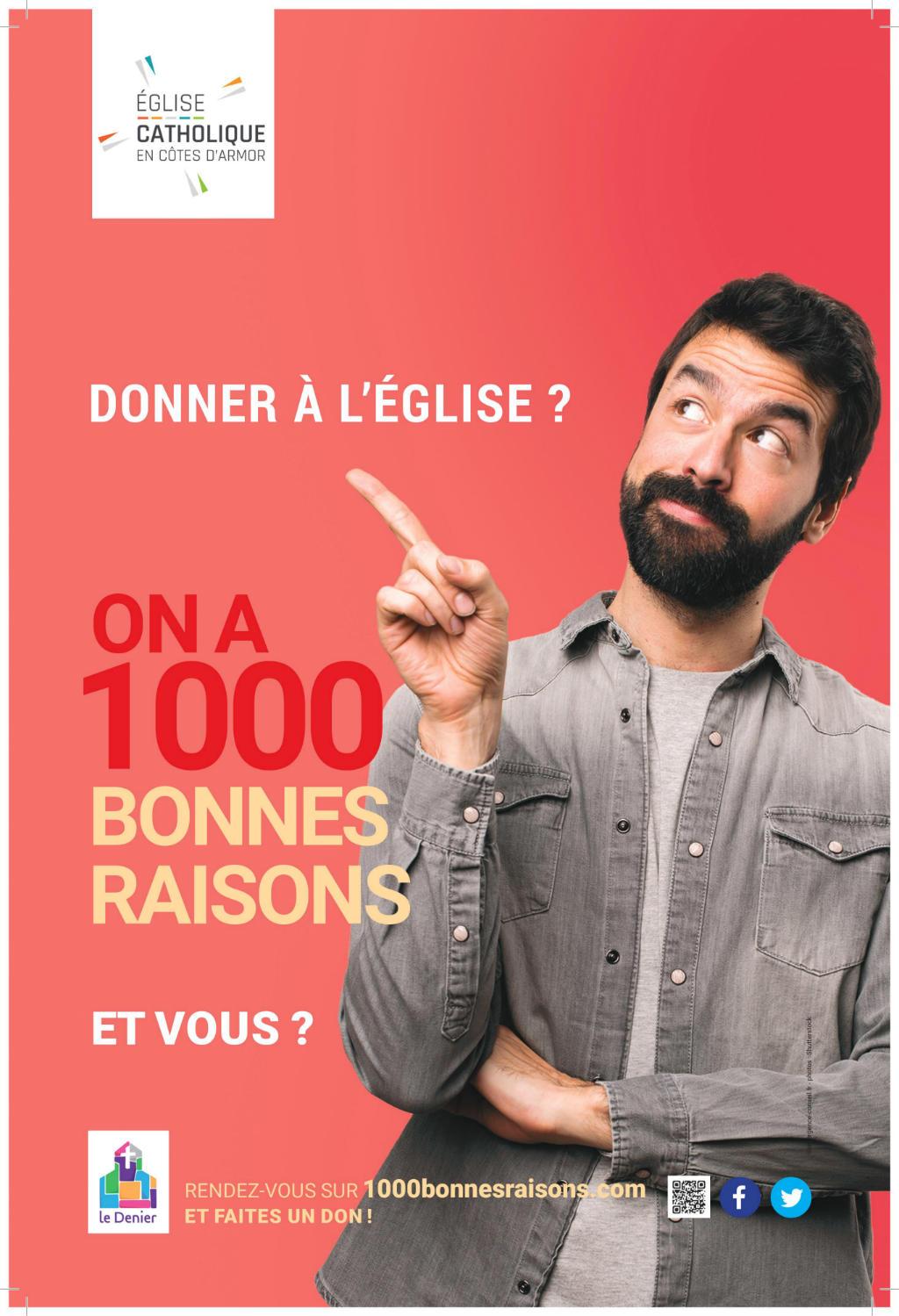 Affiche de la campagne denier 2019