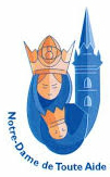 logo du sanctuaire marial de querrien