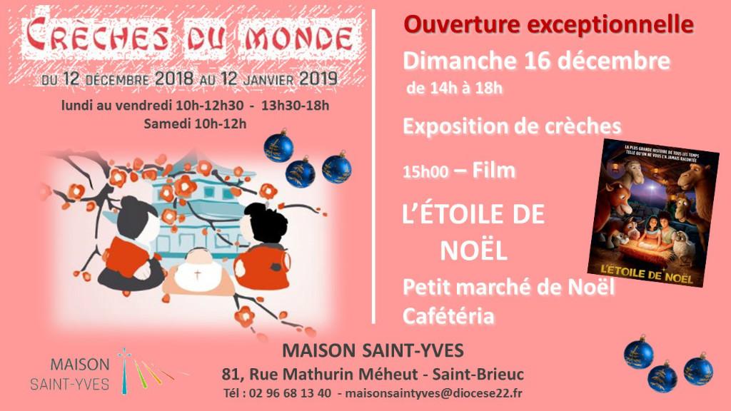 ouverture exceptionnelle de la Maison Saint-Yves