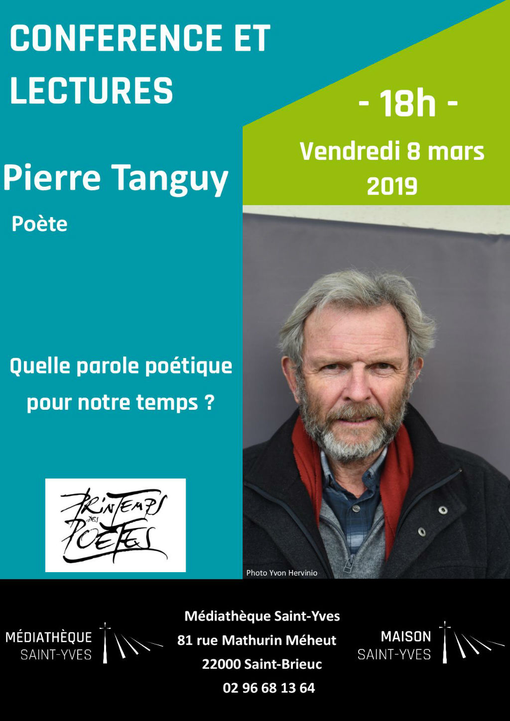 Affiche Pierre Tanguy