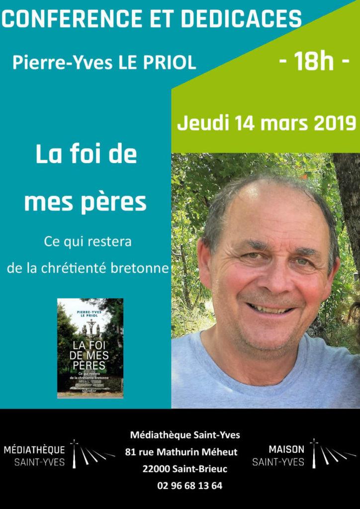 Affiche Pierre-Yves Le Priol