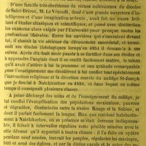 Nécrologie des abbés Biler et Le Vézouët