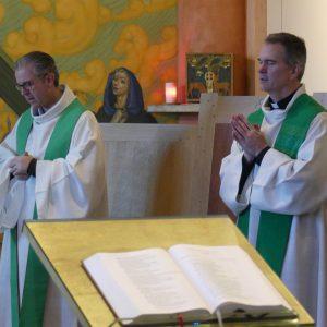 Messe avec la délégation de Louisiane