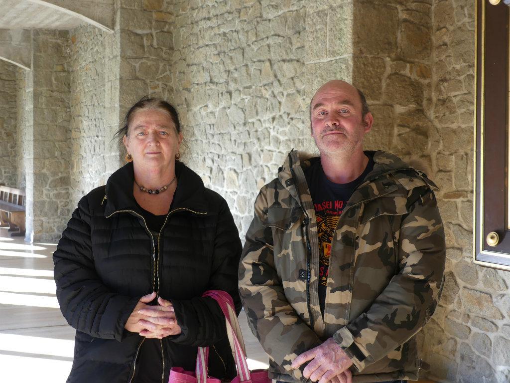 Magalie et Yann appartenant à la communauté des Gens du voyages