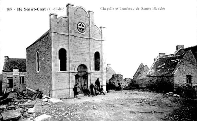 Ancien visuel de la chapelle Sainte-Blanche