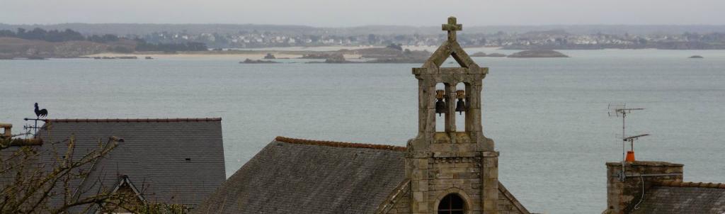 Chapelle Sainte Blanche vue mer