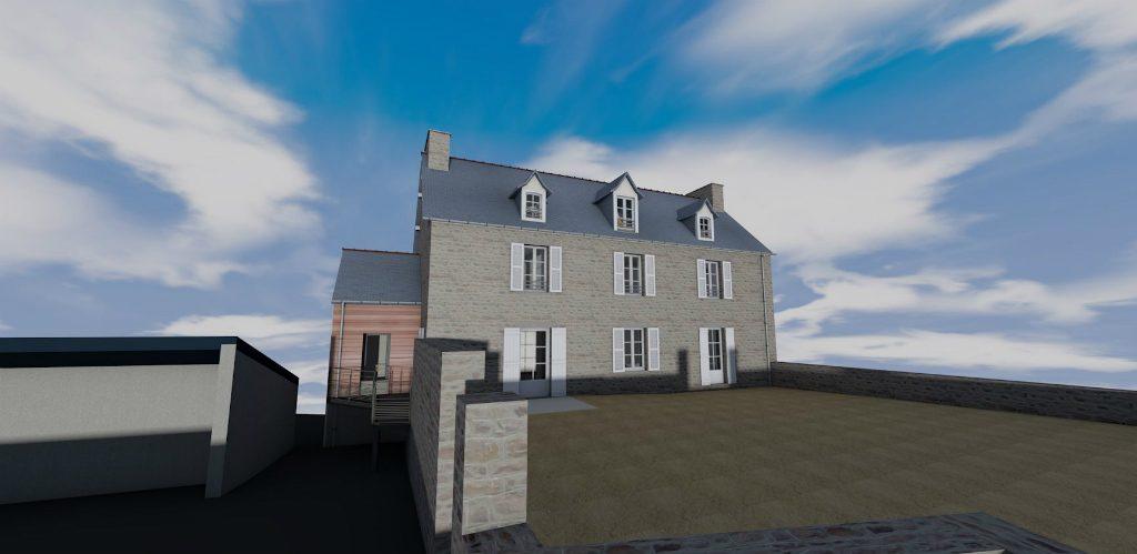 Nouvelle maison paroissiale d'Erquy