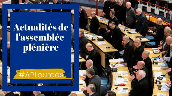 Assemblee pléniere des évêques de France printemps 2019