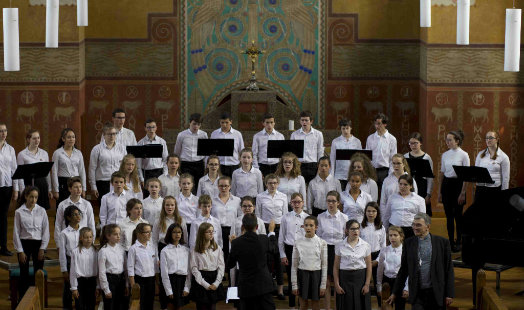 Les Petits Chanteurs de Saint-Brieuc en concert à la Maison Saint-Yves