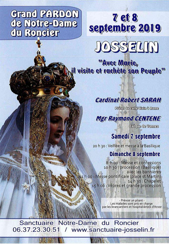 Grand pardon 2019 Notre-Dame du Roncier à Josselin