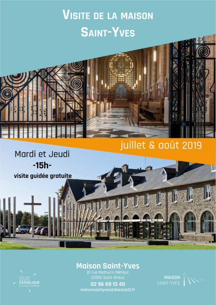 Visites de la Maison Saint-Yves à l'été 2019