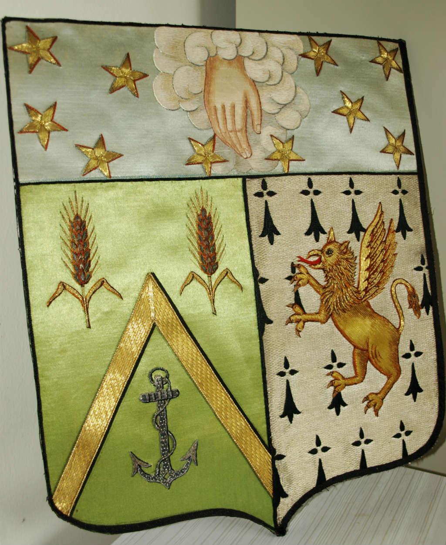 Armoiries de Filles de la Providence à Saint-Brieuc