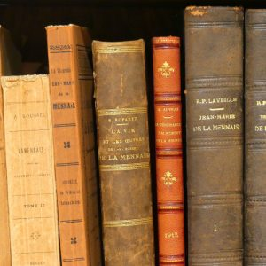 Livres anciens sur Jean-Marie de la Mennais