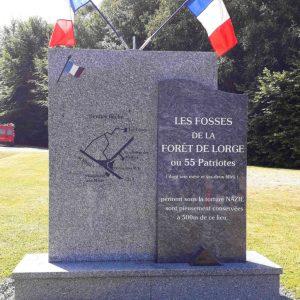 Mémorial de la Butte Rouge à L'Hermitage-Lorge
