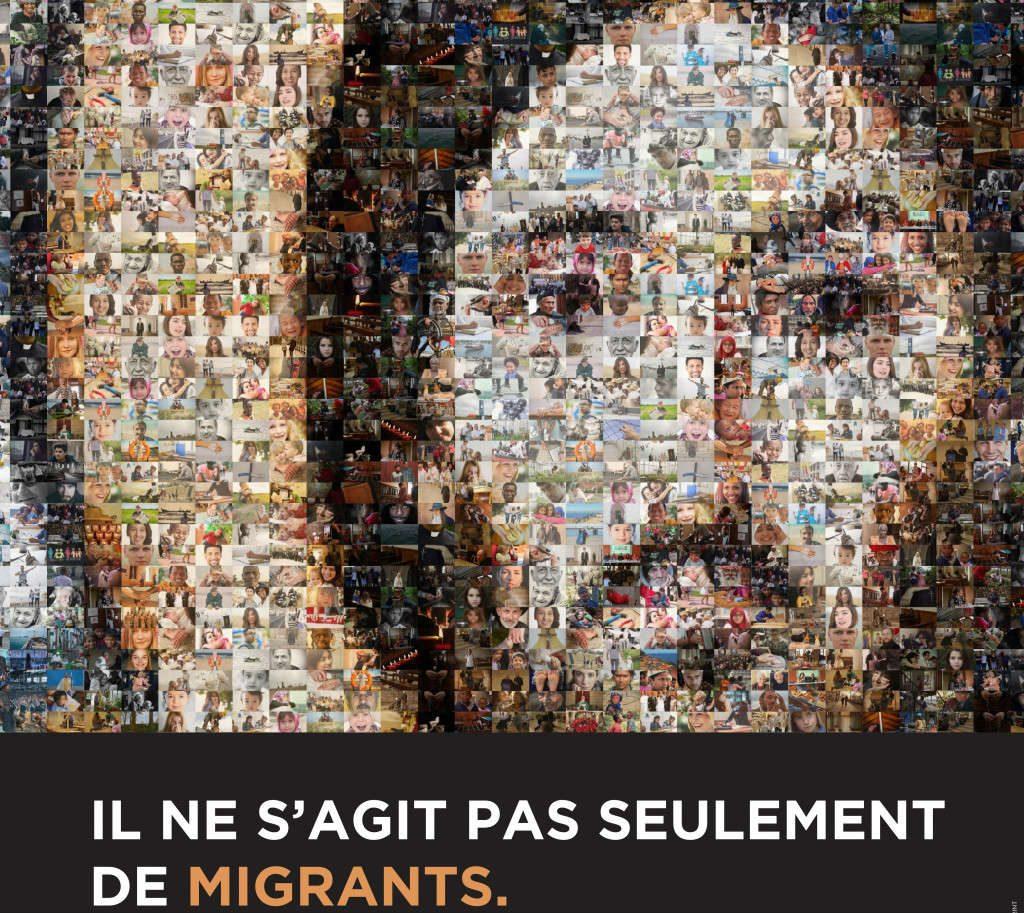 Affiche de la Journée mondiale du migrant et du réfugié 2019