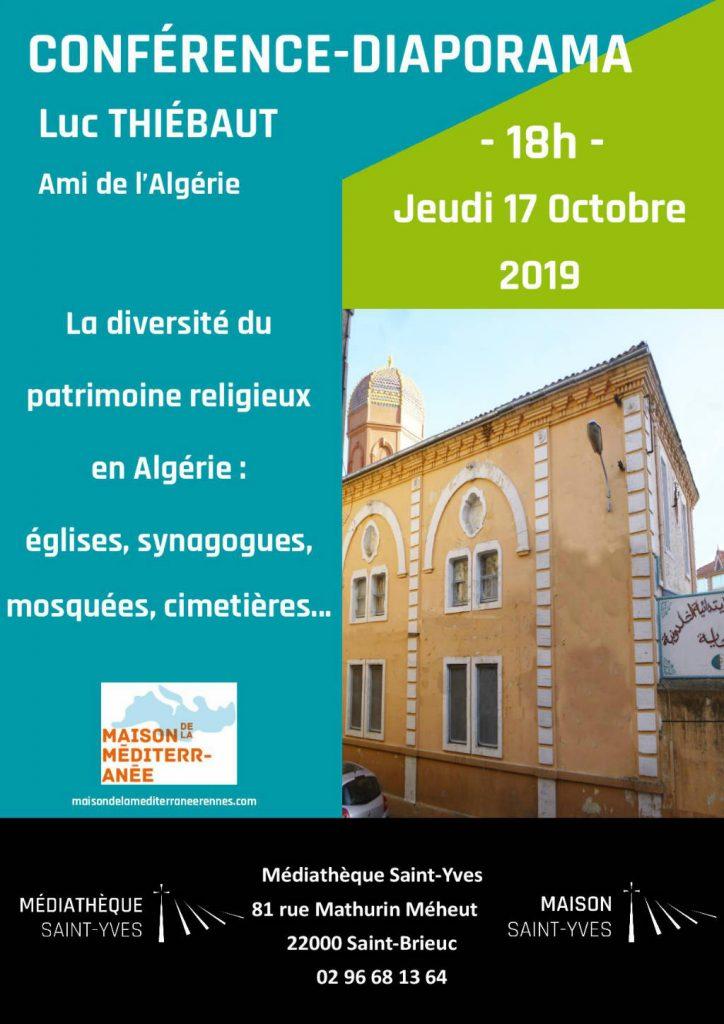 Affiche de la conférence-diaporama de Luc Thiébaut