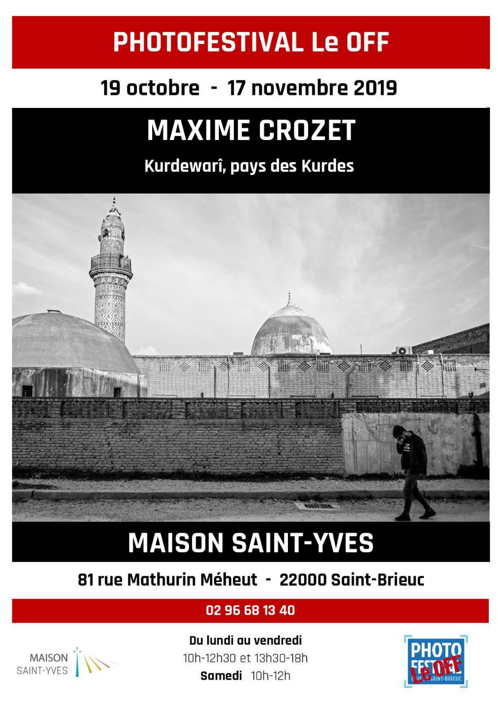 Affiche de Maxime Crozet pour Photofestival le Off