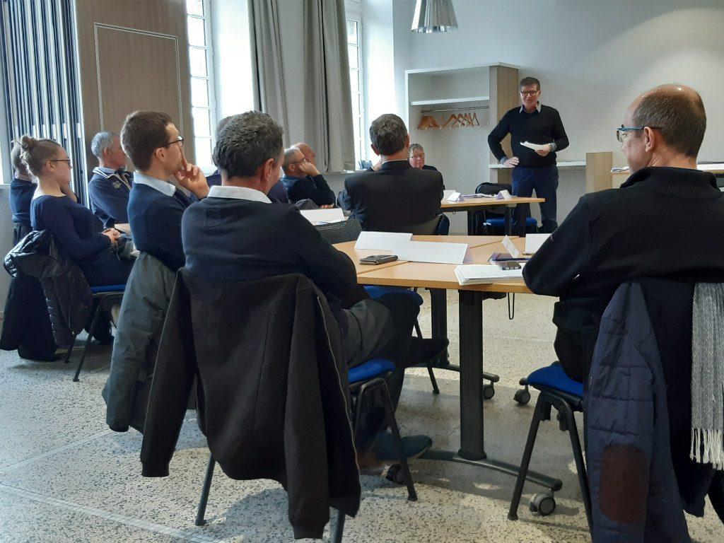 Rencontre d'agriculteurs à l'initiative de la pastorale rurale