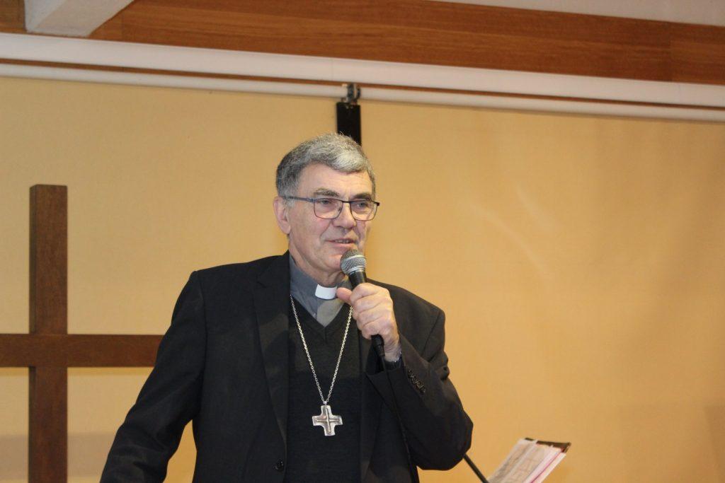 Mgr Denis Moutel à Querrien