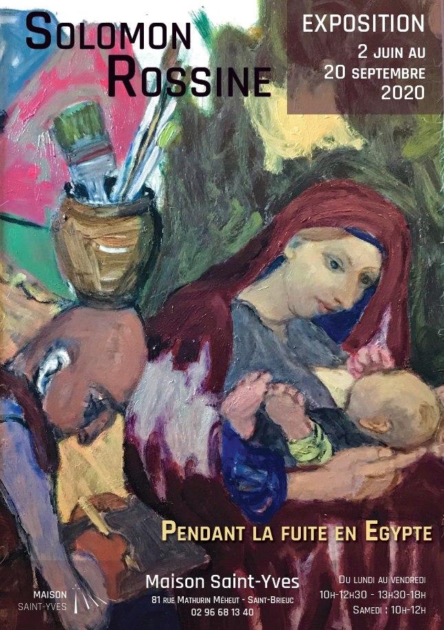 Exposition de Solomon Rossine de juin à septembre 2020