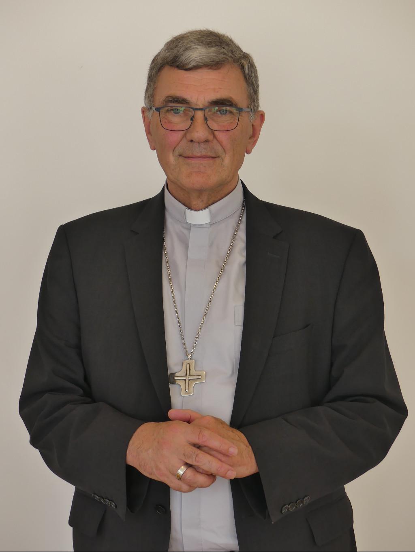 Mgr Denis Moutel, évêque de Saint-Brieuc et Tréguier