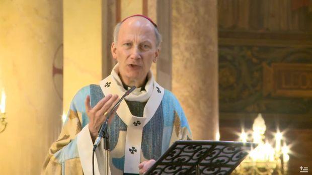 Mgr Pierre d'Ornellas, archevêque de Rennes