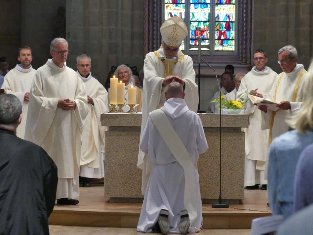 Ordination presbytérale de David Plantet