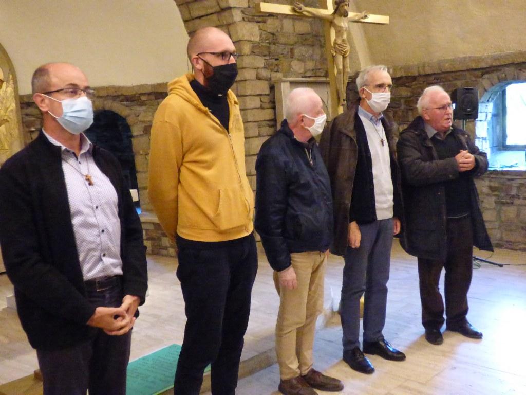 Journée paroissiale à l'abbaye de Boquen