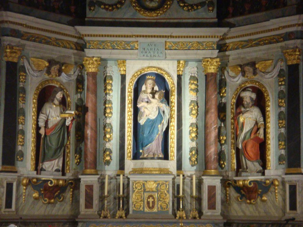 chapelle du sanctuaire de Querrien
