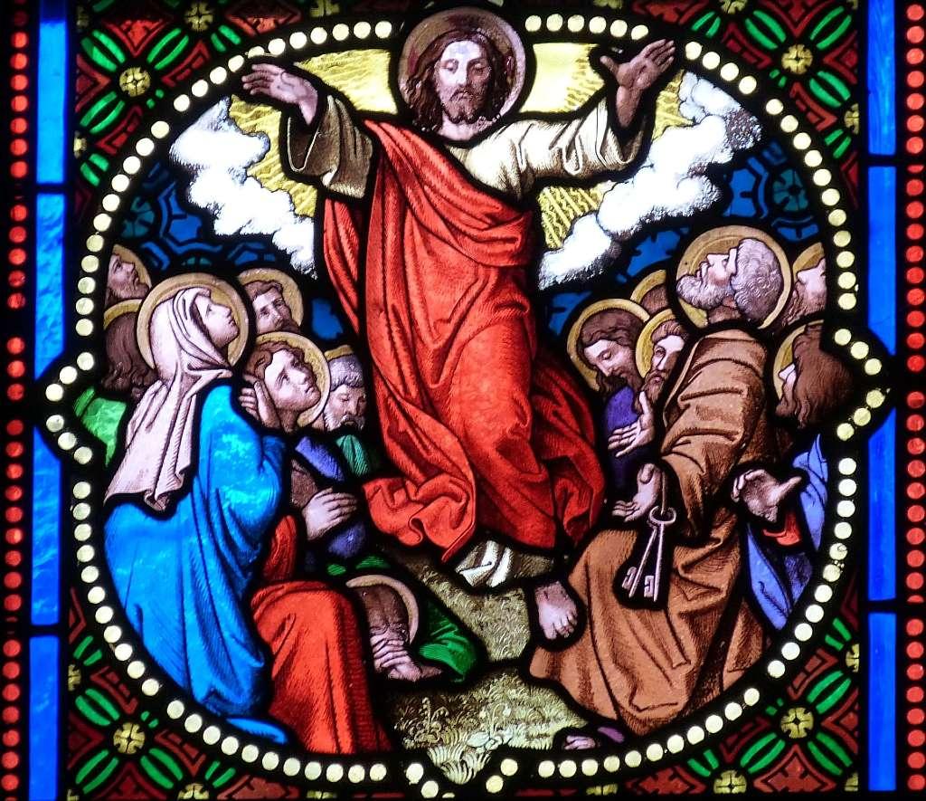 Vitrail représentant Jésus