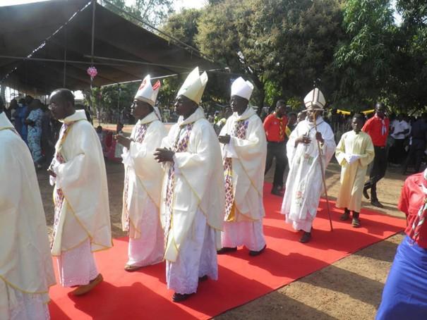 célébration au diocèse de djougou