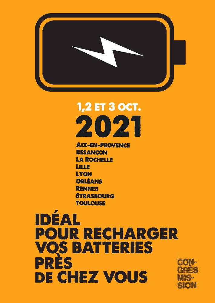 Affiche du Congrès Mission 2021
