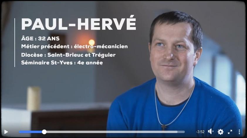 Vidéo-témoignage de Paul-Hervé